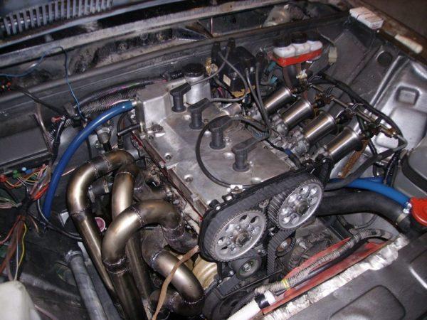 Двигатель от «Приоры» на ВАЗ 2106