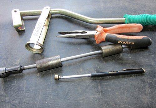 Инструменты для замены сальников
