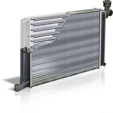 Основной радиатор ВАЗ 2107