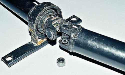 Разъединение вилок кардана