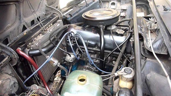 Штатный двигатель ВАЗ 2106
