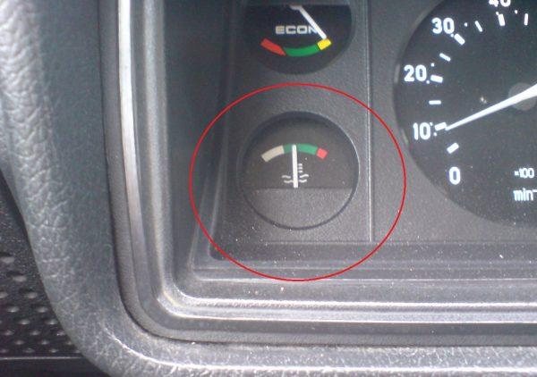 Указатель температуры антифриза ВАЗ 2107