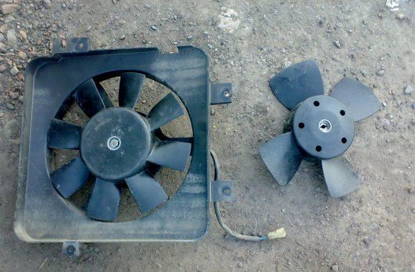 Вентилятор системы охлаждения ВАЗ 2107