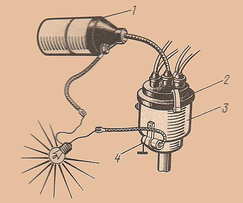 Проверка исправности конденсатора при помощи лампы