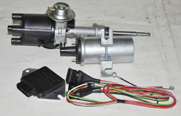 Комплект бесконтактного зажигания на транзисторном коммутаторе