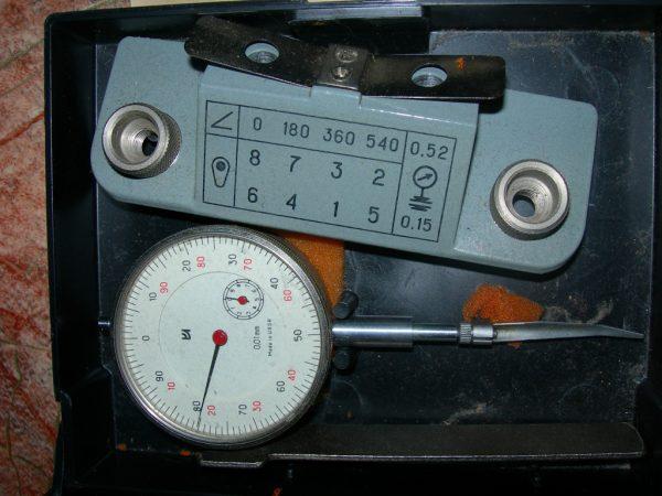 Микрометр и последовательность регулировки клапанов