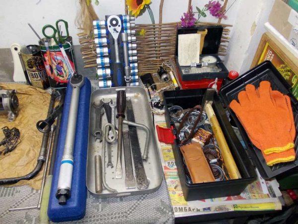 Набор инструментов для ремонта ГБЦ