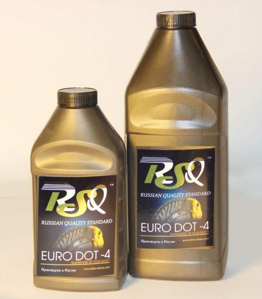 Тормозная жидкость ДОТ-3 и ДОТ-4