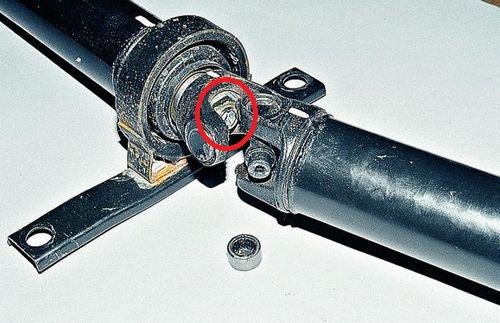 Вилка шарнира карданного вала ВАЗ 2107