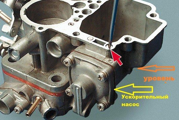 Винт подачи топлива ускорительного насоса ВАЗ 2106
