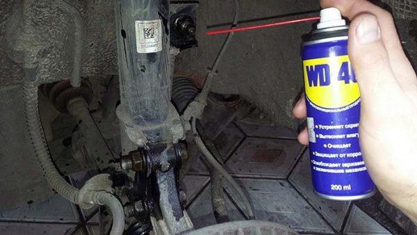Аэрозольная смазка WD-40 способ применения