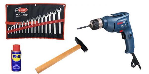 Инструмент для усиления обвесов ВАЗ 2107