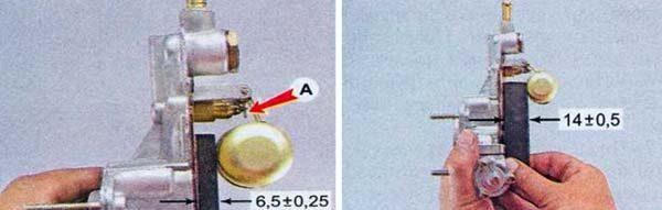 Как настроить уровень топлива в камере ДААЗ 2105