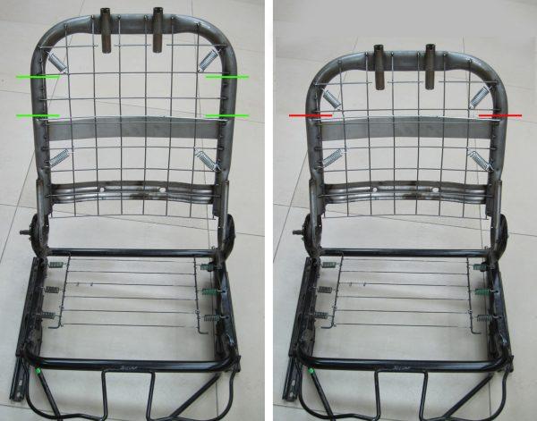 Каркас сиденья
