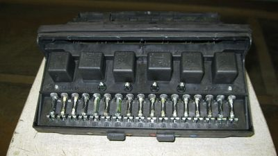 Монтажный блок ВАЗ 2107 старого образца