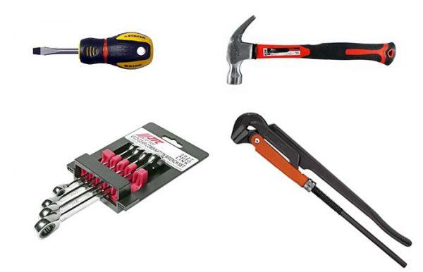 Инструменты для замены резонатора ВАЗ 2107