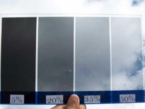 Нормы светопропускания тонировочной плёнки