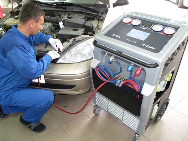 Оборудование для заправки автомобильных кондиционеров