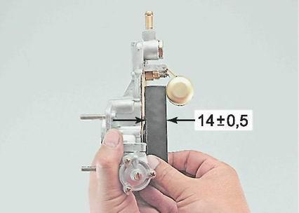 Открытие игольчатого клапана