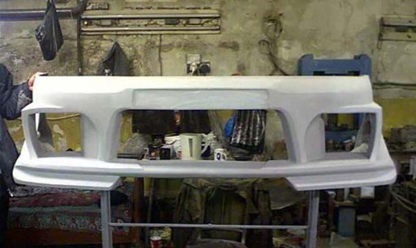 Передняя часть ВАЗ 2107 из стекловолокна