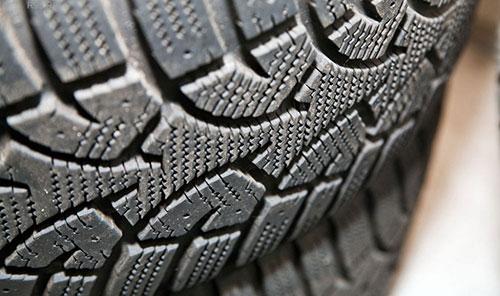 Протектор зимней шины