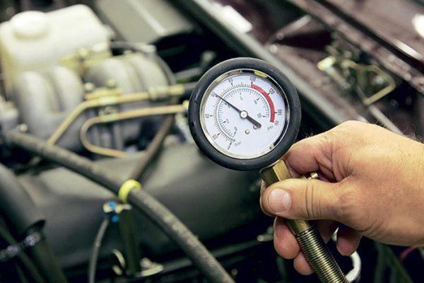 Проверка давления моторной смазки ВАЗ 2106