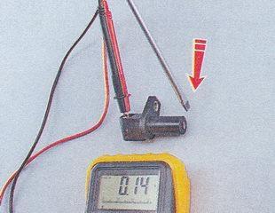 Проверка реакции ДПКВ на металлический предмет