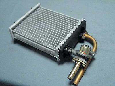 Радиатор отопителя с краном