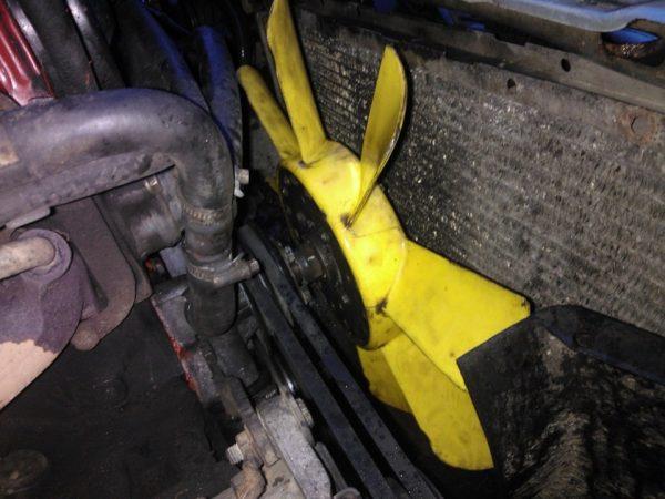 Расположение вентилятора радиатора охлаждения ВАЗ 2101