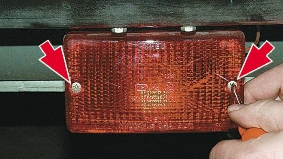 Ремонт заднего противотуманного фонаря