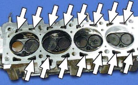 Рубашка охлаждения двигателя