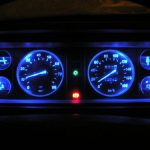 Светодиодная подсветка приборного щитка ВАЗ 2107