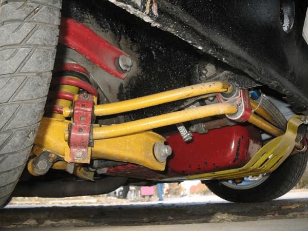 Тюнинг передней подвески ВАЗ 2107