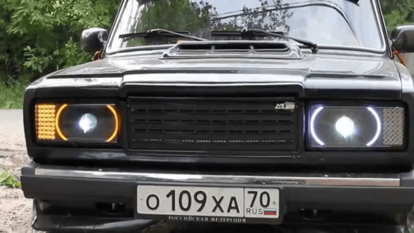 Тюнинг передних фар ВАЗ 2107