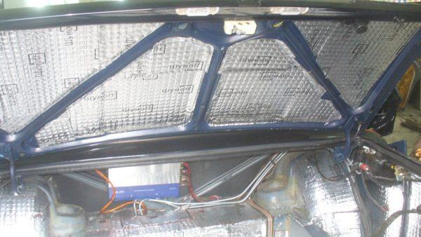Виброизоляция крышки багажника