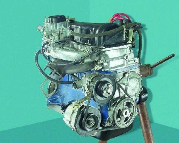 Внешний вид двигателя ВАЗ 2106