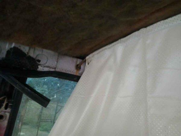 Замена обшивки потолка