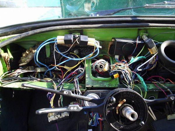 Замена проводов панели приборов ВАЗ 2101