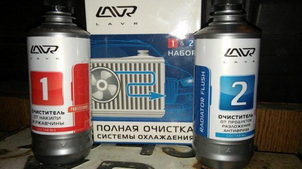 Двухкомпонентная жидкость LAVR