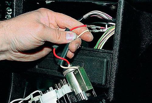 Провода прикуривателя ВАЗ 2107