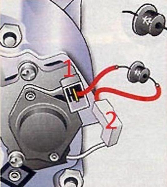 Установка дополнительного диода на ВАЗ 2107
