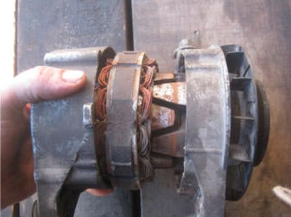Ротор и статор генератора