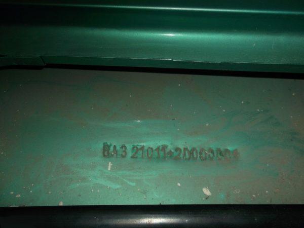 Кузовной номер ВАЗ 2101