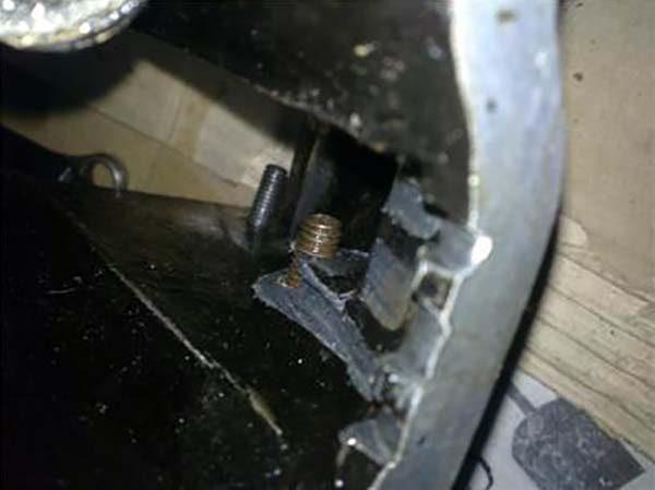 Обрыв успокоителя ГРМ на ВАЗ 2101—07