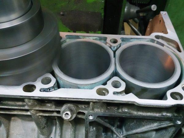 Расточка блока двигателя ВАЗ 2104