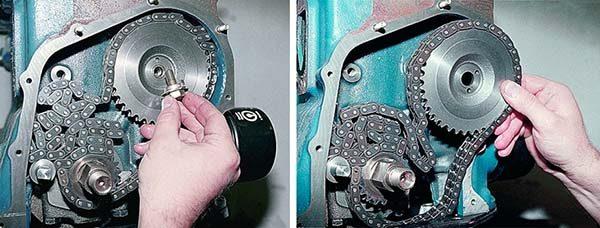Разборка привода ГРМ на ВАЗ 2106