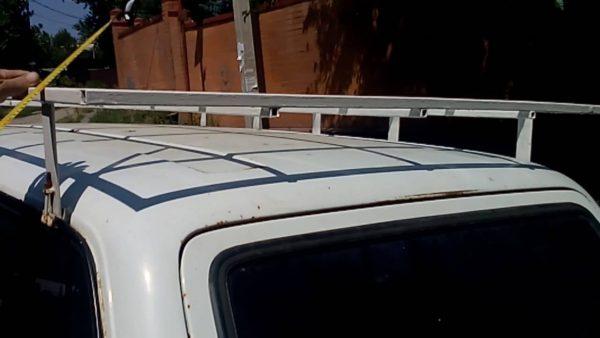 Самодельный багажник на крыше ВАЗ 2104