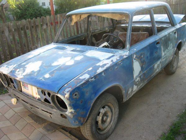 Шпатлевание кузова ВАЗ 2101