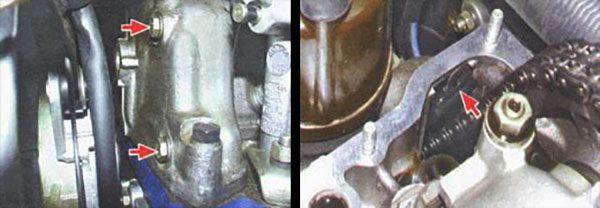 Снятие успокоителя ГРМ на двигателе «Жигулей»