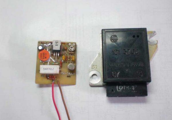 Устройство внешнего регулятора ВАЗ 2106